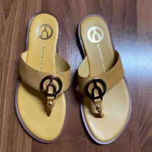 FREE - The Wishbone Collection leather flip flop